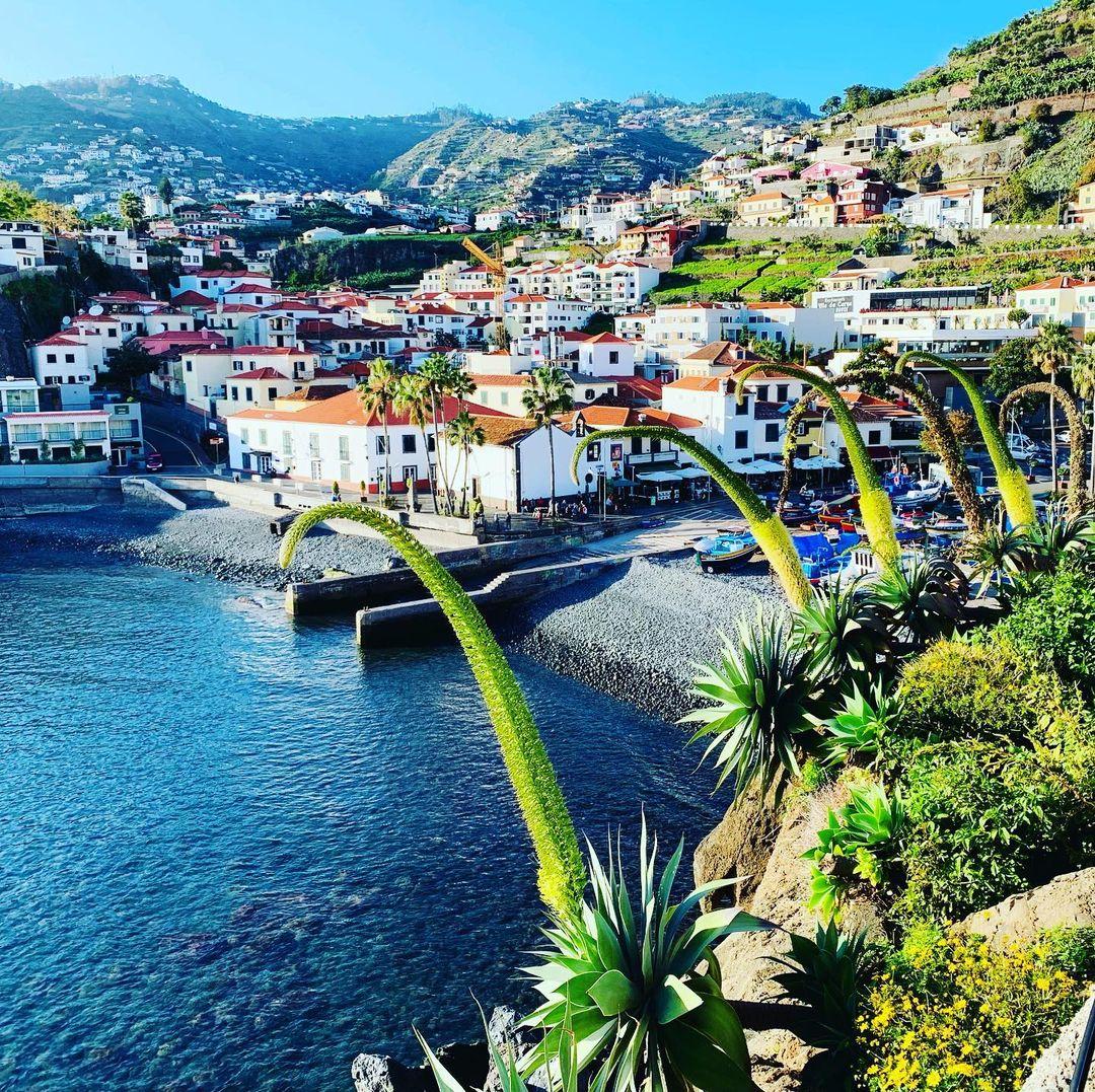 Câmara de Lobos, drugie co do wielkości miasto na wyspie (35000 mieszkańców i pow. 51km2) Nazwa miasta wywodzi się z faktu, że w chwili odkrycia wyspy zaobserwowano tam dużą liczbę Lwów morskich (tzw.wilków morskich). Câmara de Lobos może być przetłumaczona na polski jako komnata wilków morskich. To najstarsza kraina rybaków , którzy na kutrach tzw. Xavelhas  głównie łowią czarnego pałasza ( Espada Preta)