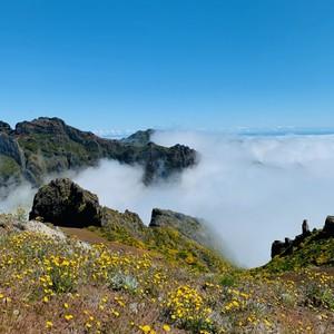 Ponad chmurami - Pico do Arieiro 1810m Wycieczka wschodnia